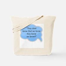 Cute White shopping Tote Bag