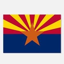 Arizona: Arizona State Flag Postcards (Package of