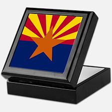 Arizona: Arizona State Flag Keepsake Box