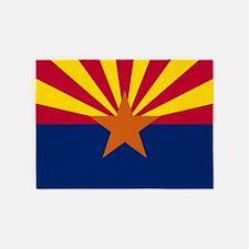 Arizona: Arizona State Flag 5'x7'Area Rug