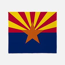 Arizona: Arizona State Flag Throw Blanket