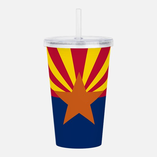 Arizona: Arizona State Flag Acrylic Double-wall Tu