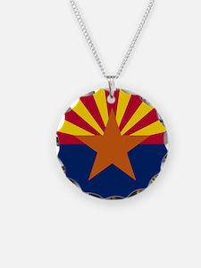 Arizona: Arizona State Flag Necklace
