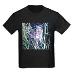 Colorful Cat Kids Dark T-Shirt