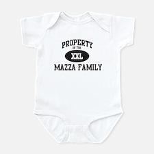 Property of Mazza Family Infant Bodysuit