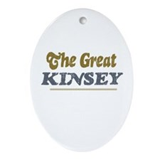 Kinsey Oval Ornament