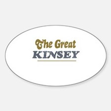 Kinsey Oval Decal