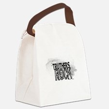 Truthers Rock Canvas Lunch Bag