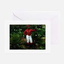Jocko the Lawn Jockey Greeting Cards