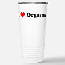 Unique Custom heart Travel Mug