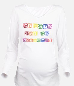 Cool 2 moms Long Sleeve Maternity T-Shirt
