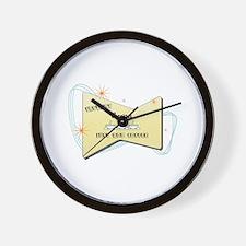 Instant Concierge Wall Clock
