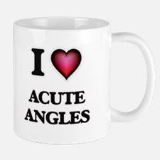 I Love Acute Angles Mugs