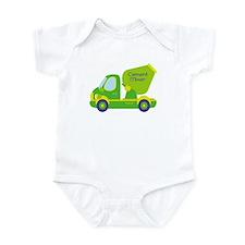 cement mixer Infant Bodysuit