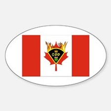 Ontario Police Gifts Oval Decal