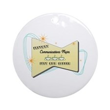 Instant Communications Major Ornament (Round)