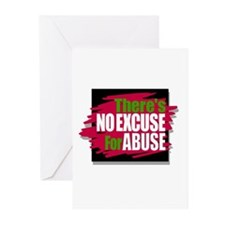 There's No Excuse for Abuse Greeting Cards (6)