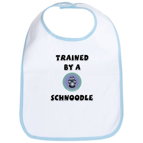Trained by a Schnoodle Bib