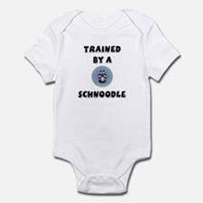Trained by a Schnoodle Infant Bodysuit