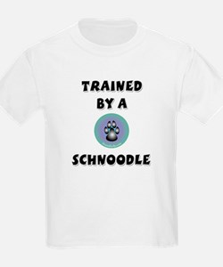 Trained by a Schnoodle T-Shirt