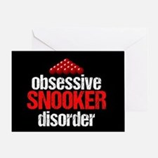 Funny Snooker Greeting Card