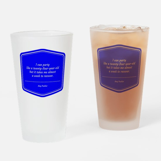 Unique Amy Drinking Glass