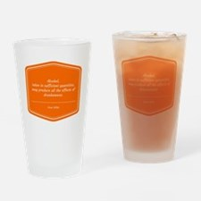 Cute Quips Drinking Glass