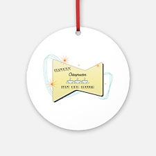 Instant Chiropractor Ornament (Round)