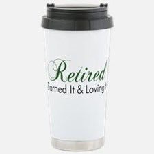 Cute Retirement gag Travel Mug