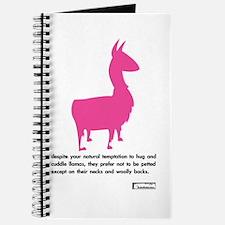 'cuddle llamas' journal