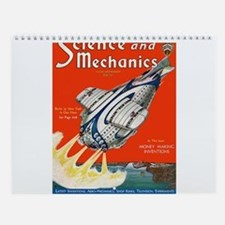 Old Time Science Wall Calendar