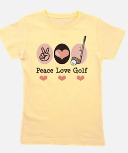 Unique Golf sports Girl's Tee