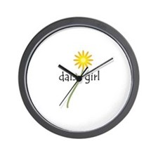 Daisy Girl Wall Clock