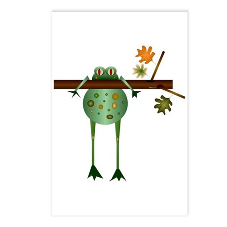 Of Trees and Frogs Postcards (Package of 8)