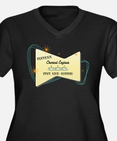 Instant Chemical Engineer Women's Plus Size V-Neck