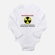 Nuclear Waste Producer Infant Creeper Body Suit