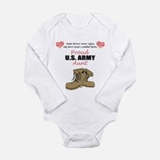 Proud US Army Aunt Body Suit
