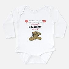 Proud US Army Aunt Body Suit