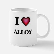 I Love Alloy Mugs