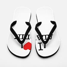 I Love ALADDIN Flip Flops