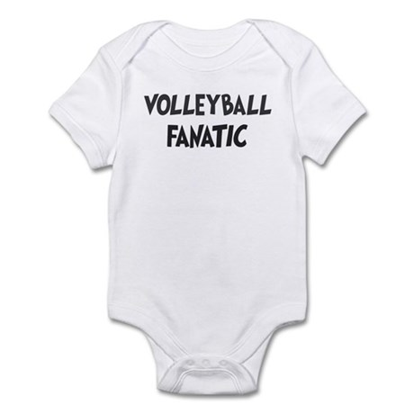 Volleyball fanatic Infant Bodysuit