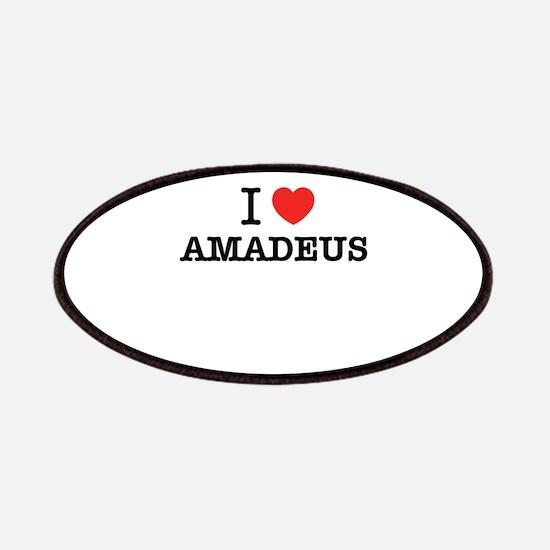 I Love AMADEUS Patch