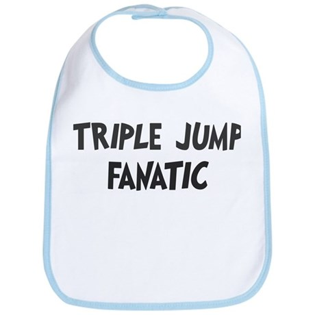 Triple Jump fanatic Bib