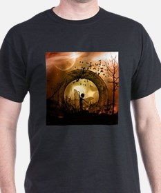 Cute dancing fairy in the sunset T-Shirt