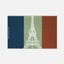 Cute France soccer Rectangle Magnet