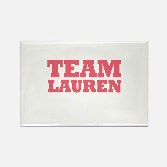 Team LC / Team Lauren Rectangle Magnet