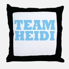 Team Heidi Throw Pillow