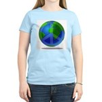 Peace Planet Women's Pink T-Shirt