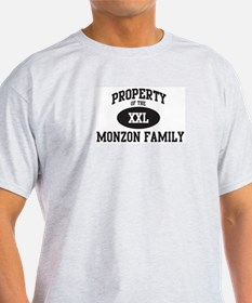 Property of Monzon Family T-Shirt