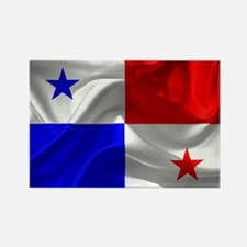 Cute Panamanian flag Rectangle Magnet